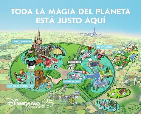 Organiza tu viaje Disney